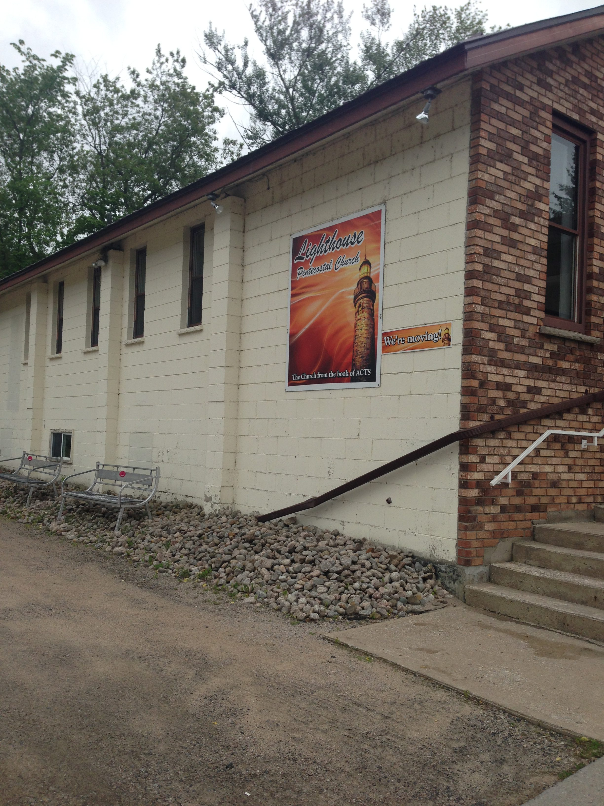 Lighthouse Pentecostal Church's relocation to Harmony Road